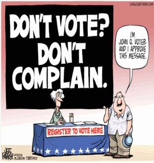Image result for vote or shut up